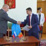 Район Басарабяска и город Железногорск подписали договор о побратимстве.