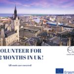 Волонтёр на год в Великобритании! Участвуй!