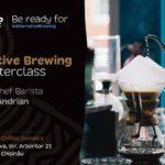 Tucano Coffee приглашает на бесплатный мастер-класс! Забронируйте место!