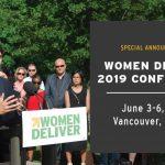 Конференция в Канаде Women Deliver 2019, медиа стипендия