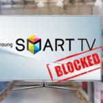 Samsung ограничила функции телевизоров, которые ввезены в Молдову «серыми схемами».