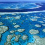 Популярная достопримечательность Австралии — Большой Барьерный Риф.