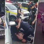 В Кишинёве сотрудники полиции жестоко обошлись с водителем и пассажиром автомобиля при задержании.