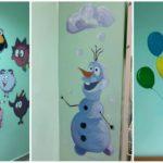 (фото) Студенты UTM превратили стены детской больницы в столице в правдивые истории.
