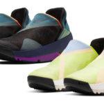 Nike показала новую модель кроссовок, без шнуровки, липучек и сложных механизмов, которые можно надевать и снимать без помощи рук.