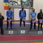 Борцы из Гагаузии завоевали на чемпионате Молдовы золотую, серебряную и две бронзовые медали