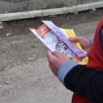 Информационная кампания продолжается! Волонтеры из Басарабяски организовали акцию по информированию жителей села Карабетовка.