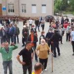 Акция сторонников вхождения Молдовы  в состав Румынии  в Комрате не продлилась и 15 минут.